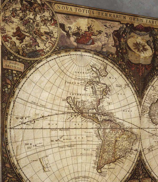 mapa starog sveta tapeta