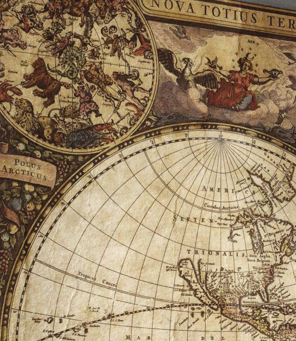 stara mapa sveta
