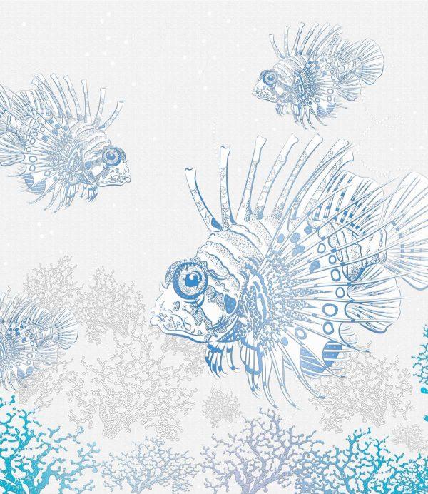 Riba na tapeti