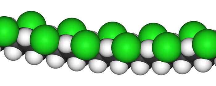 pvc molekul