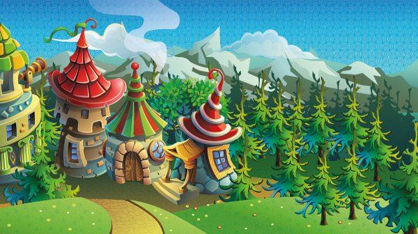 dvorac tapeta 3d emisija zdravo dete