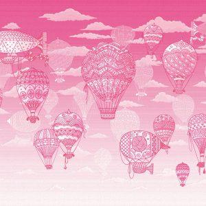 baloni roze za sobu za devojcice