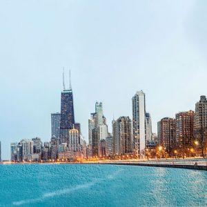 Tapeta za zid gradovi Čikago