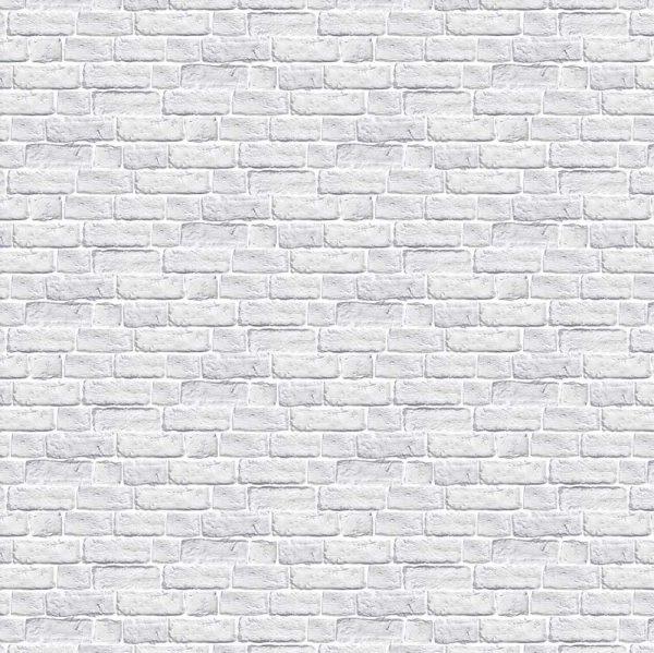 Beli zid cigle tapete